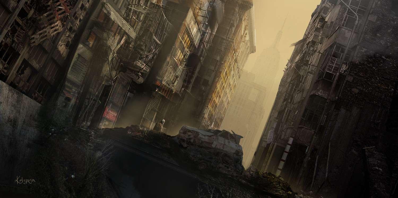 Apocalyptic City Concept