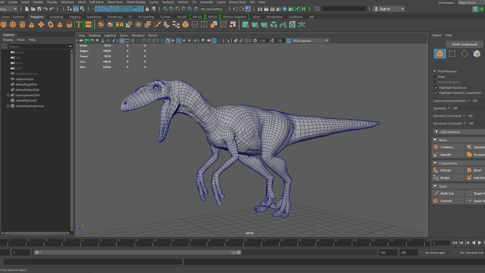 How To Model and Texture a Raptor | The Rookies