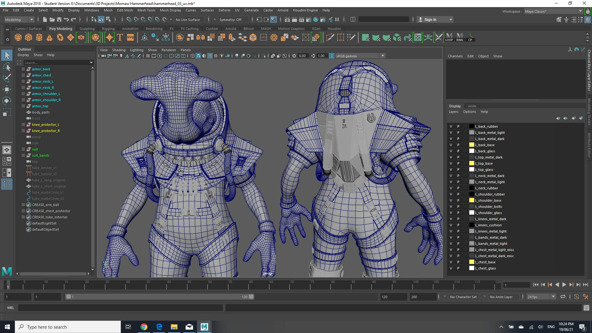 How to create a Photorealistic Alien Spacesuit with Maya and ZBrush
