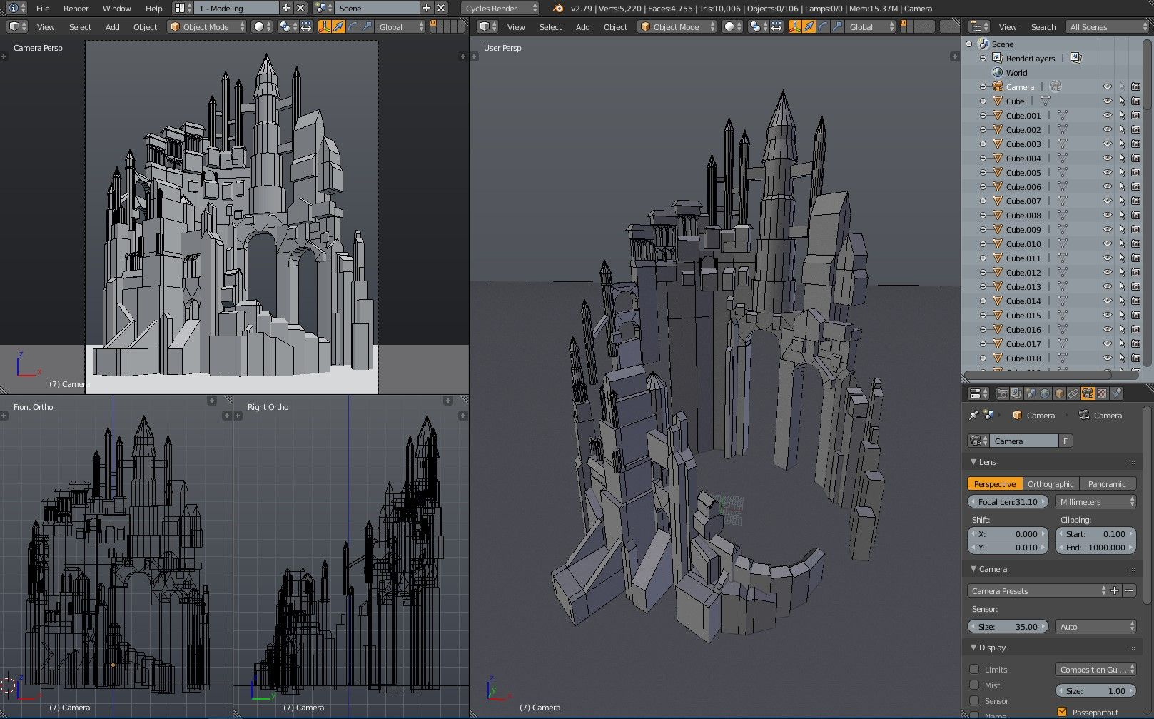 Creating a Fantasy Castle in Unreal Engine | The Rookies