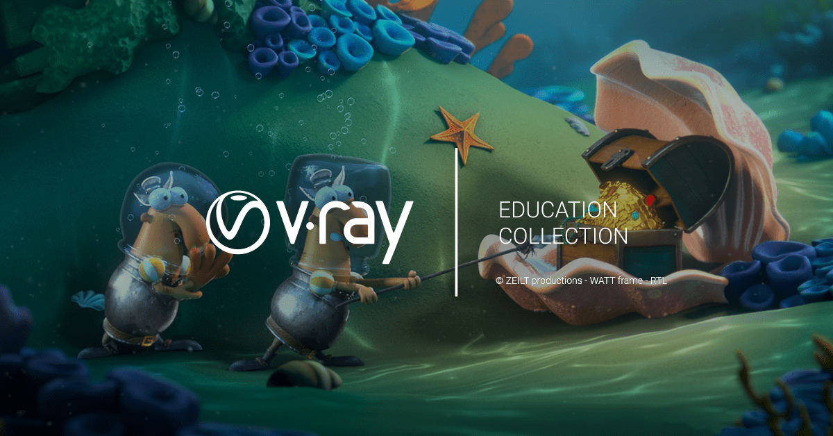 V-Ray Education Collection Added to the Rookie Awards Prizes