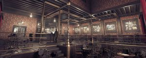Wet Olive Saloon: Creating a Wild West-Steampunk Scene in 3D
