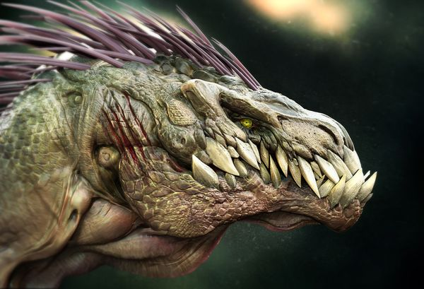 How to create a 3D dinosaur raptor concept with Zbrush