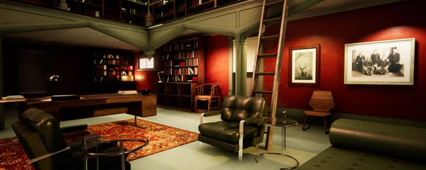 Constructing Hannibal Lecter's Office with Unreal Engine 4