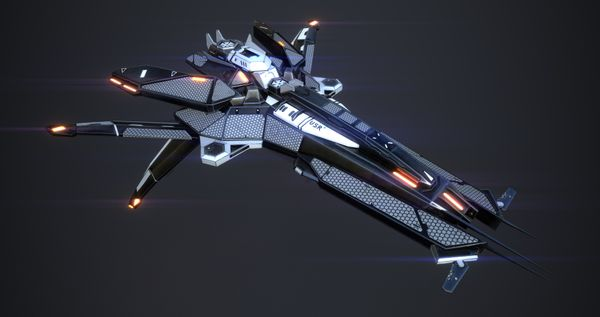 Creating a Space Fighter with Substance Painter for Games