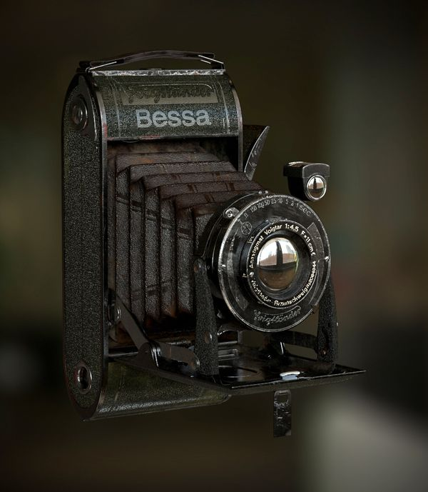 3d Modelling and Rendering a Photorealistic Vintage Camera