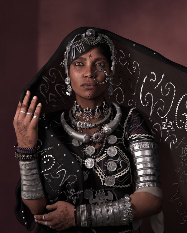 How to Create a 3D Character: The Making Of Rabari Woman