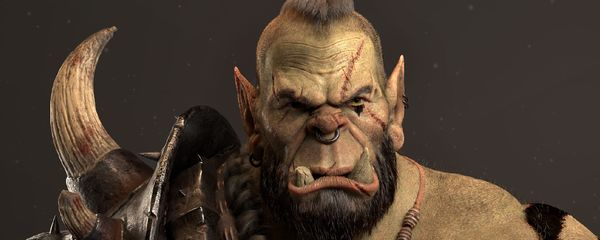 Creating a 3D Orc Warrior Character for Production