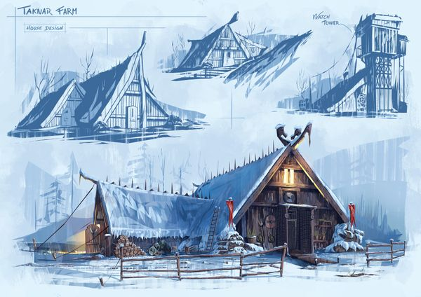 Creating Viking Universe Artworks by Quentin Marsollier