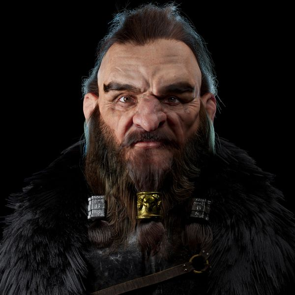 Create a Hobbit-like Dwarf for 3D Production