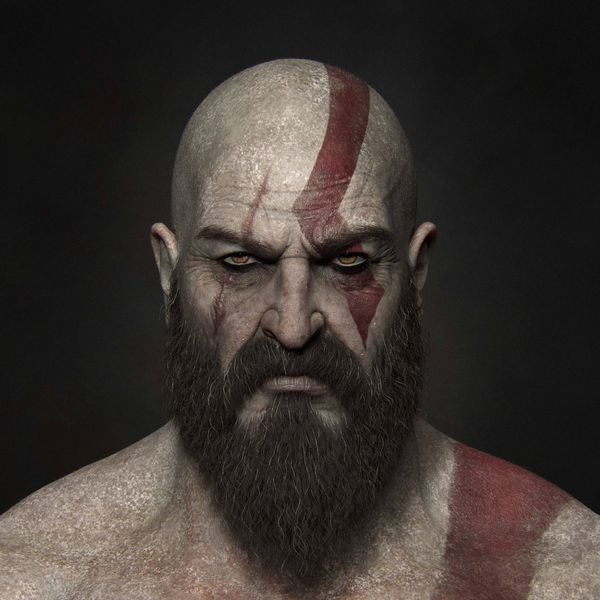 Complete ZBrush and Substance Painter workflow for creating Kratos | King of Midgard